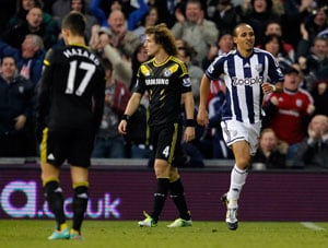 Roberto Di Matteo pays for tinkering as West Bromwich Albion punish Chelsea