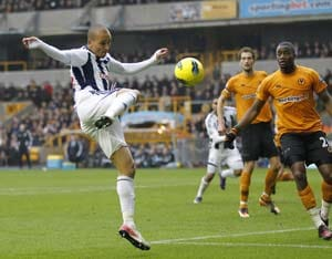 West Brom slap five past Wolves