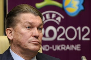 UEFA Euro 2012: Blokhin blames food poisoning for friendly defeat