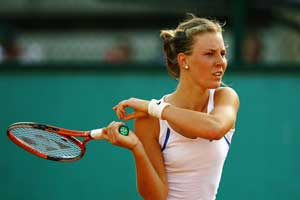 Rogowska beats defending champ in Malaysian Open