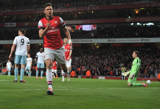 Refreshed Olivier Giroud can lead Arsenal FC's Euro bid, says Arsene Wenger