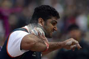 Mayookha Johny, OP Karhana win bronze, Krishna Poonia disappoints at Asian Athletics championships