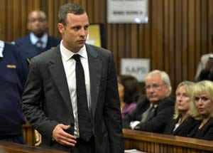 Oscar Pistorius Allegedly Made Sinister Remark to Reeva Steenkamp's Friend in Court