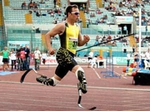 Oscar Pistorius left off South Africa's Paralympic team as expected