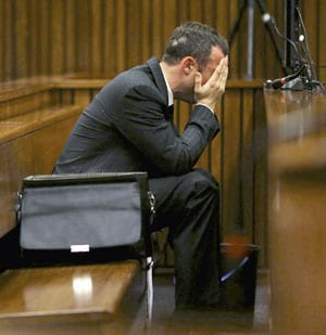 Oscar Pistorius forced to look at 'exploded' head of girlfriend