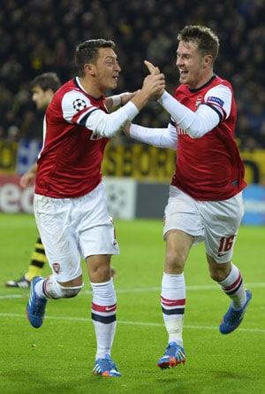 Arsenal down Borussia Dortmund, Spanish sides enter Champions League last 16