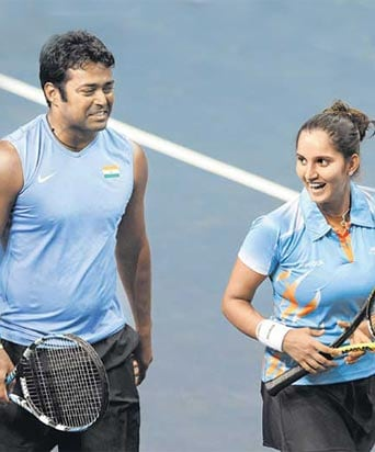 London 2012 Tennis: Leander Paes, Sania Mirza confirmed in mixed doubles