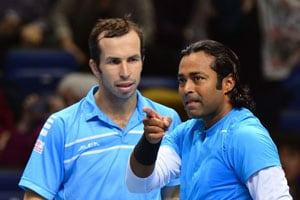 Leander Paes-Radek Stepanek suffer defeat in 2nd match in year-end finals
