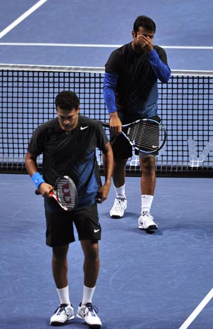 Paes-Bhupathi crash out of ATP World Tour Finals