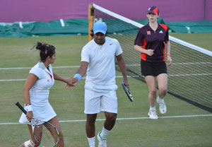 London 2012 Tennis: Leander Paes-Sania Mirza out of the Olympics