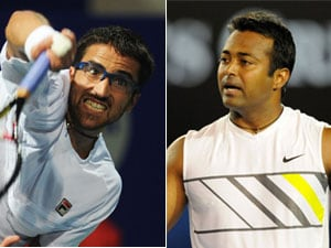 Paes, Tipsarevic advance to semis of Chennai Open