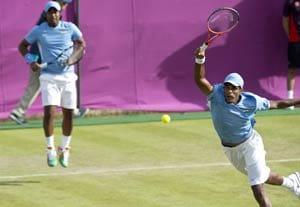 London 2012 Tennis: Paes-Vardhan shine in opening round