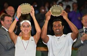 Wimbledon 2012: Leander Paes-Elena Vesnina end runners-up at Wimbledon