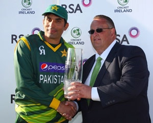 Pakistan beat Ireland to win 2-match ODI series