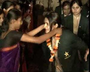 Pakistan women arrive in India for World Cup