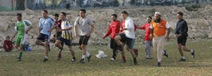 Palestinians prepare for historic home match
