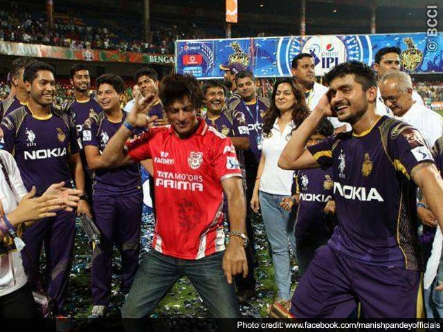 IPL 7 Final: I knew Manish Pandey Will Win KKR the Crown, Says Shah Rukh Khan