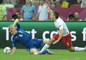 UEFA Euro 2012: Greeks hit by Papadopoulos injury