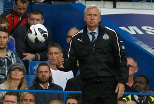 Pardew given ban and fine for linesman shove