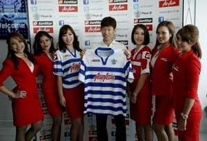 United's Park Ji-sung signed by QPR for 2 years