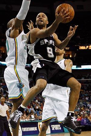 Spurs' Parker preps for post-NBA future in France