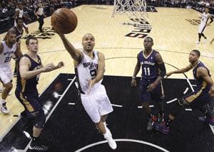 NBA: Manu Ginobli scores 16 points, leads San Antonio Spurs over New Orleans Pelicans