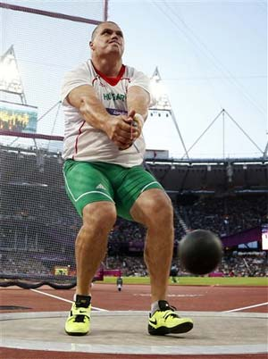 Pars gets revenge, wins Olympic hammer throw