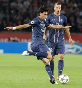 PSG enjoy easy win on return to Champions League