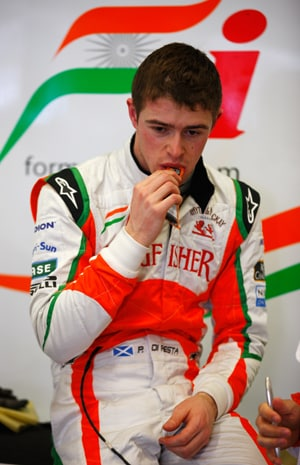 Force India's Paul di Resta is eager to claim maiden podium