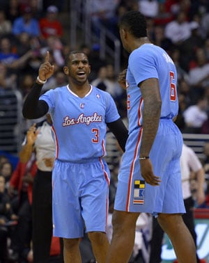 NBA: Chris Paul returns in Los Angeles Clippers' 123-78 rout of Philadelphia 76ers