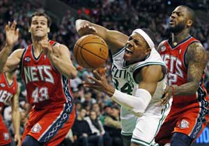 Celtics top Nets for 3rd straight, move above .500