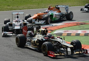 Paul Di Resta gets 4 points for Force India from Italian GP