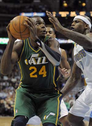 Millsap's double-double leads Jazz past Nuggets