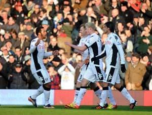 New-boy Pogrebnyak inspires Fulham against Stoke