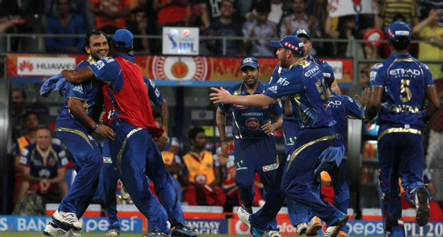IPL 7, MI vs RCB, Highlights: Rohit Sharma, Kieron Pollard Star in Mumbai Indians' Victory