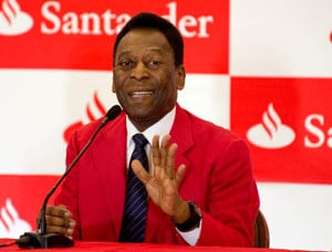 Pele Fears Protests in Brazil Will Hurt FIFA World Cup