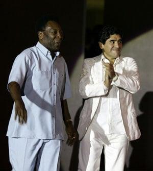 Pele would always be second best, says Diego Maradona