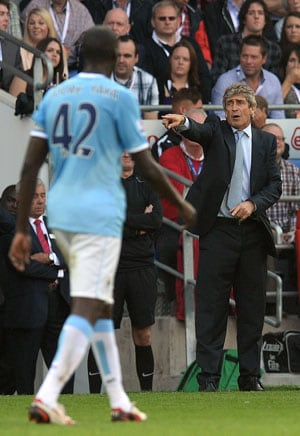 Manuel Pellegrini expects more from Manchester City players