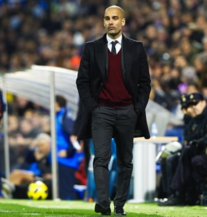 Guardiola discounts Barca favourites tag