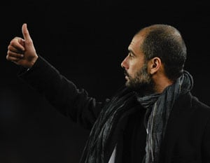 Guardiola salutes Barcelona history-makers