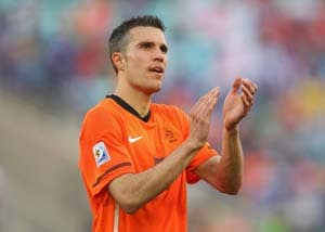 Robin Van Persie ready to make his mark at Euro 2012