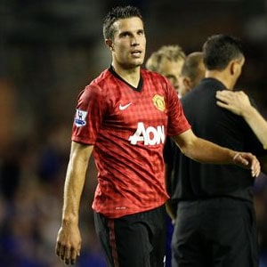 David Moyes confirms Robin van Persie out of Liverpool tie
