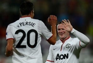 Robin Van Persie relishing Rooney partnership