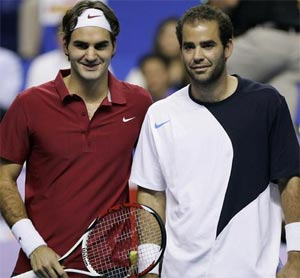 Pete Sampras salutes Roger Federer on rankings mark