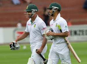 New Zealand vs South Africa: Petersen, Duminy make hosts toil after rain delay