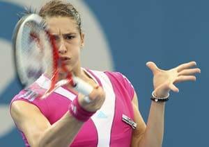 Petkovic wins 2nd-round match at Brisbane