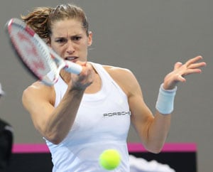 Fed Cup: Germany lead Australia 2-0 in semi-final