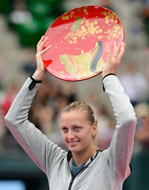 Petra Kvitova tames Angelique Kerber to win Pan Pacific Open