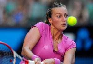 Australian Open: Petra Kvitova stunned by Thai player Luksika Kumkhum