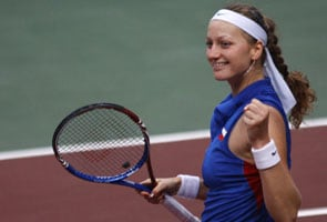 Kvitova pulls off upset to take Madrid title